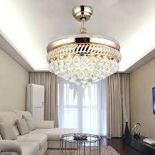 instructive glam ceiling fans regarding fan chandelier combo crystal lantern