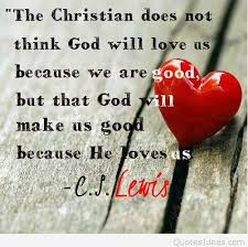 god christian love quote card