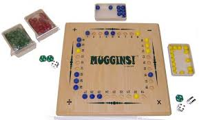 Wooden Math Games Muggins 89
