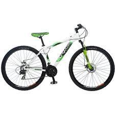 Mongoose Deception 29 Inch Mens Mountain Bike Green Mens