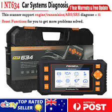<b>Foxwell NT634</b> 4 System Auto Diagnostic Tool Scanner ABS SRS ...