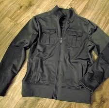 apt 9 other apt 9 charcoal gray mens moto er style jacket