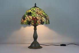 lamps tiffany style touch lamp stained glass track lighting tiffany dragonfly lamp shade all glass