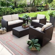 furniture cute patio conversation sets 29 beautiful modern wicker outdoor with umbrellas