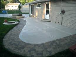 fine patio how to build a concrete patio twin falls diy pavers with pavers over concrete patio