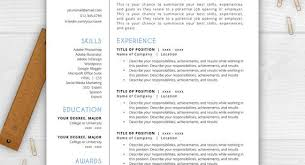Stand Out Resume Templates Inspiration Information Of Simple Resume Template Simple Resume Template Part 24