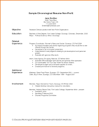 Resume Objective Samples Sop Proposal