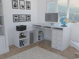 l shaped corner desk. Houston_l_shaped_corner_desk_white___set_5984e85b8b70d L Shaped Corner Desk W