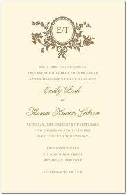 Traditional Wedding Invitation Traditional Style Letterpress Wedding Invitations In Ecru Sarah