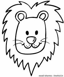 Small Picture Lion Coloring Page
