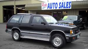 1992 CHEVY S10 BLAZER SOLD!! - YouTube
