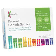 Walgreens Saliva Service Kit Personal 23andme Collection Genetic