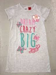 Details About Girls Summer Grey Nightie Pjs Licensed Nickelodeon Jojo Siwa Bows Pyjamas