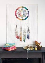 Dream Catcher Quilt Pattern Stunning feathers AND a stunning 'web' in this Dreamcatcher mini 8