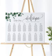 Seating Chart In Alphabetical Order Wedding Seating Chart Alphabetical Order Wedding Seating