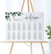 Wedding Seating Chart Alphabetical Order Wedding Seating