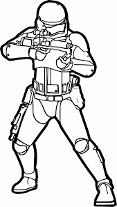 stormtrooper coloring pages
