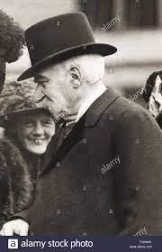 J.p. Morgan ein Kinder Theater Aufführung seiner Enkelin. Ca. 1912. John  Pierpont Morgan Nase deformiert war Stockfotografie - Alamy