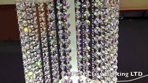 bespoke custom crystal chandelier pillers floor lamp from first class lighting ltd you