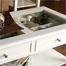 see through coffee table 2018 white panorama coffee table see through top s table