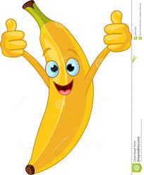 Caract Re Gai De Banane De Dessin Anim Illustration De Vecteur