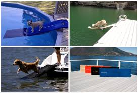 how to build a dog ramp for pontoon boat