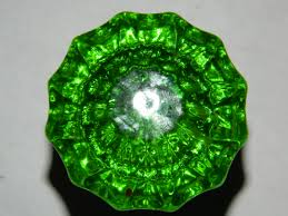 green glass door knobs photo 19