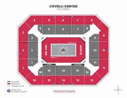 Covelli Center Seating Chart Seating Charts Ohio State Buckeyes
