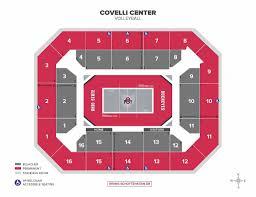 Covelli Center Seating Chart Ohio State Covelli Center Ohio State Buckeyes