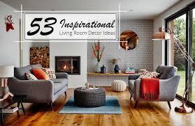 Decoration furniture living room Simple 53 Inspirational Living Room Decor Ideas Amara 53 Inspirational Living Room Decor Ideas The Luxpad