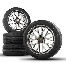 Porsche 20 Rs Spyder Design Wheels Original Porsche 20 Inch Macan Rs Spyder Winter Wheels