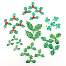 3cm red fruit with green leaves tree decoration supplies diy art fabric accessories room kindergarten ornaments