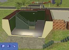 sims glitzy 1 bdrm w walkout basement
