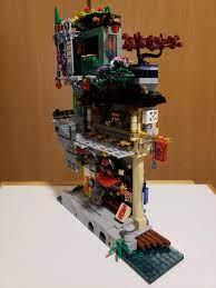 I made a small addition to my Ninjago City set.: lego