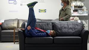 ikea to back used furniture in