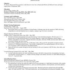 Registered Nurse Resume Examples Awesome Nursing Lovely Resumes
