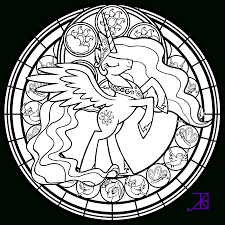 Stained Glass Coloring Pages | Ppinews.co