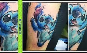 Stitch Lesperimento Genetico Tattoo By Bizio Andrea Caso Tattooing