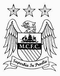 Manchester city fc coloring pages