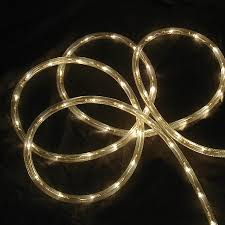 christmas rope lighting. Northlight 216-Count 18-ft Constant With White Incandescent Plug-In Christmas Rope Lighting