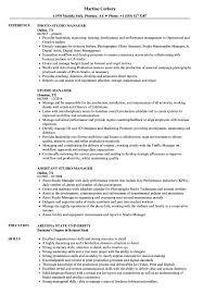 Design Studio Manager Sample Resume Studio Manager Resume Samples Velvet Jobs 1