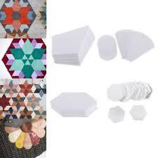 Paper Piecing Flower 40 100pcs Hexagon Flower Paper Quilting Template English Paper