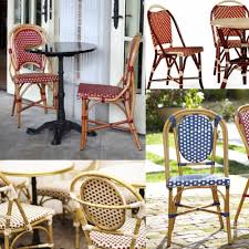 french cafe style outdoor furniture designs