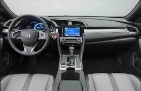2018 honda civic interior. Simple Civic 2018 Honda Civic SI Sedan Review To Honda Civic Interior
