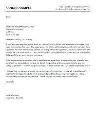 Sales Office Administrator Cover Letter Letters Alexandrasdesign Co