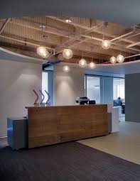 eureka track lighting. eureka lighting gallery pendant exposed ceiling raw wood custom reception desk entry waiting areas pinterest track