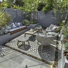 wooden garden furniture small patio