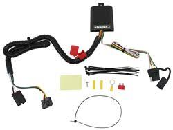 troubleshooting no power for trailer wiring harness on a 2013 hyundai tucson trailer wiring harness curt t connector vehicle wiring harness for factory tow package 4 pole flat
