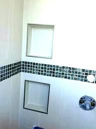 how to install shower niche installing pink tile redi ho