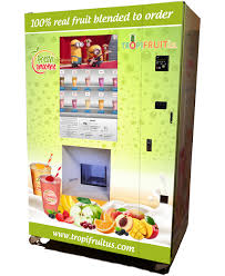 Fruit Vending Machines Magnificent TropiFruit Smoothie Vending Machine SVM TropiFruit